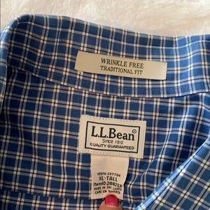 LL Bean Men's Shirt XL Tall